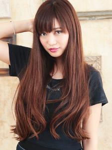 ニュアンスカールのナチュラルロング|hair ARKS 上大岡店のヘアスタイル