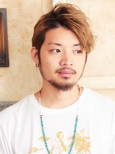 リバースタイトなラインとパーマのワイルドライン!!|hair ARKS 上大岡店のヘアスタイル