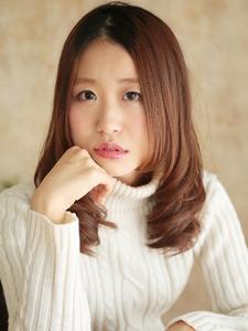 ナチュ可愛☆セミロング|hair ARKS 上大岡店のヘアスタイル