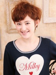 ゆる☆ふわ☆キュートなショートスタイル☆ hair ARKS 上大岡店のヘアスタイル