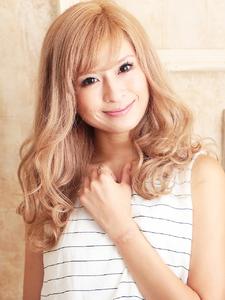 海外セレブ風☆柔らかシフォンウェーブ hair ARKS 上大岡店のヘアスタイル