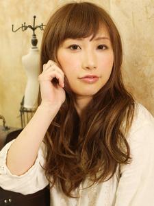 ナチュラルミックスカール x 大人可愛いロングstyle hair ARKS 上大岡店のヘアスタイル