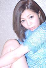 ヴィンテージアッシュ COVO 櫛田 恵美のヘアスタイル