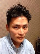 くせ毛風パーマ COVO 櫛田 恵美のメンズヘアスタイル