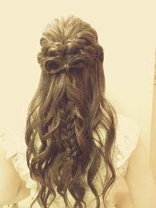 くるりんハーフ|COVOのヘアスタイル