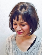 ふんわりBOB|Cierge 新丸子店のヘアスタイル