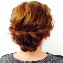 ツイストセット|Cierge 新丸子店のヘアスタイル