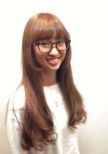 ナチュラルベージュ|Cierge 新丸子店のヘアスタイル