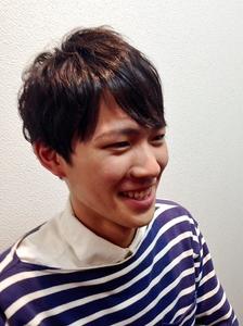 ゆるふわメンズパーマ|Cierge 新丸子店のヘアスタイル
