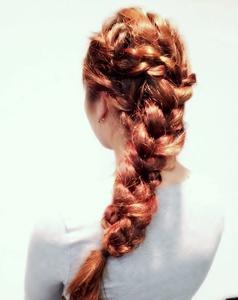 編み込みダウンセット|Cierge 新丸子店のヘアスタイル