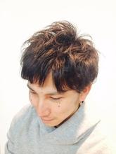 ナチュラルパーマ|Cierge 新丸子店のメンズヘアスタイル