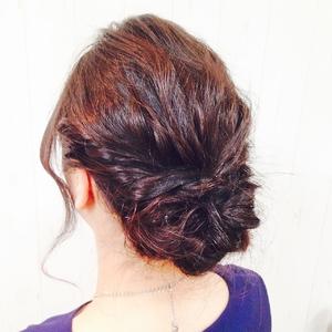 ビーチウェーブアレンジ|Cierge 新丸子店のヘアスタイル