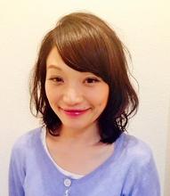 内巻きパーマスタイル|Cierge 新丸子店 佐藤 春香のヘアスタイル