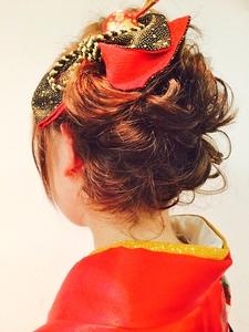 編み込みサイドアップ Cierge 新丸子店のヘアスタイル