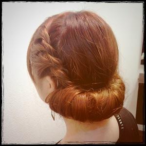ギブソンタックスタイル|Cierge 新丸子店のヘアスタイル