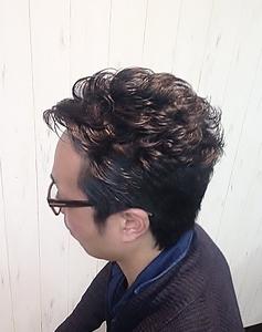 おしゃれオールバック|Cierge 新丸子店のヘアスタイル