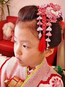 七五三 日本髪ヘア|Cierge 新丸子店のヘアスタイル