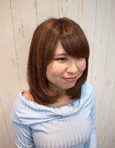 立体カラー・アッシュ|Cierge 新丸子店のヘアスタイル