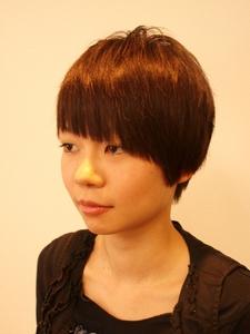 マッシュショート|Cierge 新丸子店のヘアスタイル