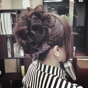 クラシカルアップ|Cierge 新丸子店のヘアスタイル