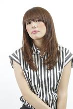 ニュアンスストレート HAIR SALON LAPUTA 高橋 伸明のヘアスタイル