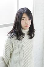 毛先のニュアンスカール HAIR SALON LAPUTA 湯田 修平のヘアスタイル