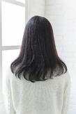 毛先のニュアンスカール