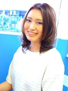 ヘルス&ビューティー☆ナチュラルセミロング|hair salon Hiviraのヘアスタイル