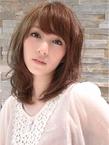 ふんわりモテ髪ミディアム|hair salon Hiviraのヘアスタイル