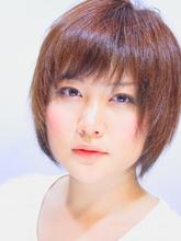 ローライト☆ハンサムショートボブ|hair salon Hiviraのヘアスタイル