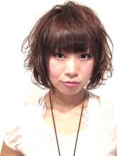 ショートボブパーマ|hair salon Hiviraのヘアスタイル
