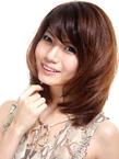 つや髪♪メドウセージブラウンのナチュラルレイヤースタイル|hair salon Hiviraのヘアスタイル