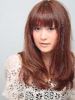 ローズマリーベージュ☆ほつれパーマ|hair salon Hiviraのヘアスタイル