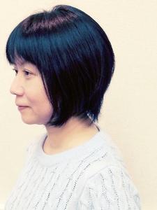 ナチュラルな美シルエット☆のショートボブ|hair salon Hiviraのヘアスタイル