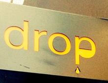 drop  | ドロップ  のロゴ