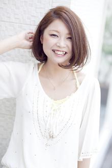 髪色質感にこだわったクールボブ!|LUNETTES HAIRのヘアスタイル