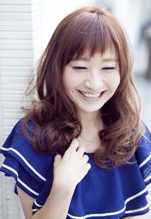 柔らかカジュアルな☆セミロングパーマスタイル☆|LUNETTES HAIRのヘアスタイル