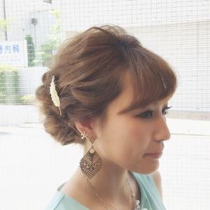 なみなみルーズアップ|Ricca hairのヘアスタイル