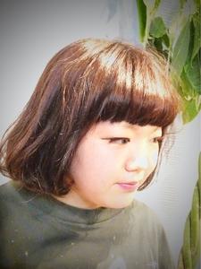 ファンシーBOB|Ricca hairのヘアスタイル