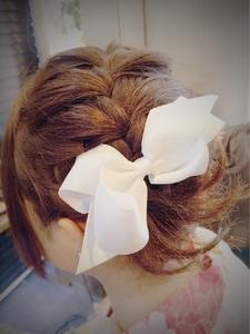 編み込みガーリー|Ricca hairのヘアスタイル
