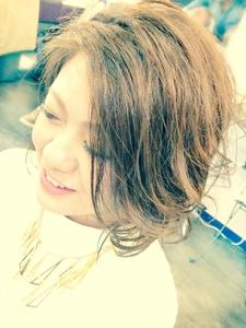 外国人風BOB|Ricca hairのヘアスタイル