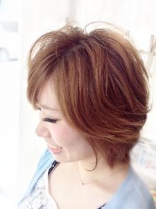 大人フェミニンショート|Ricca hairのヘアスタイル