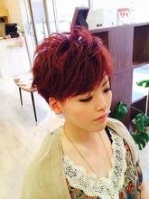 女子的2ブロックショート|HAIR×SPA DOLCEのヘアスタイル