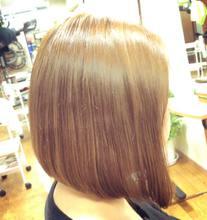 前下がりボブ|ALPHAのヘアスタイル