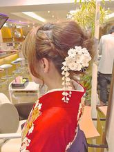卒業式へアセット|ALPHAのヘアスタイル