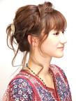 あみこみミックス・キュートアップ サイド&バック|38のヘアスタイル