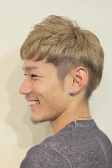 【Chloris/セトグチ】ツーブロック×スモーキーアッシュ|Chlorisのヘアスタイル