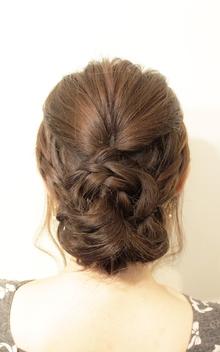 【Chloris/セトグチ】ヘアセット×三つ編みこみ|Chlorisのヘアスタイル