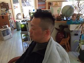 ショ−トモヒカン|理容・美容スペース シグマのメンズヘアスタイル