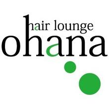 hair lounge ohana  | ヘアーラウンジオハナ  のロゴ
